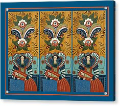 The Three Marys Acrylic Print by Leif Sodergren