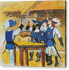 The Three Musketeers Acrylic Print