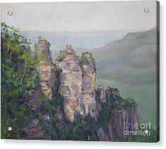 The Three Sisters Acrylic Print