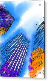 The Three Towers Acrylic Print