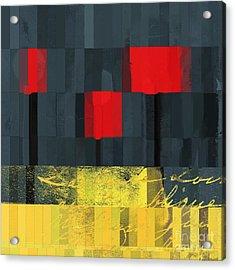 The Three Trees - J021580118  Acrylic Print