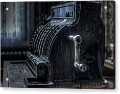 The Till Acrylic Print by Nathan Wright