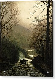 The Timber Wagon Acrylic Print