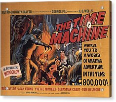 The Time Machine  Acrylic Print by Movie Poster Prints