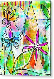 The Time To Bloom Acrylic Print by Robin Mead