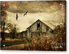 The Times They Are A Changing Acrylic Print