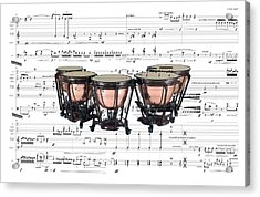 The Timpani Acrylic Print