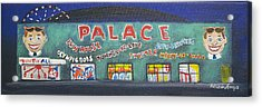 The Tiny Tiny Palace Acrylic Print by Patricia Arroyo