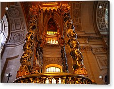 The Tombs At Les Invalides - Paris France - 011323 Acrylic Print by DC Photographer