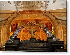 The Tombs At Les Invalides - Paris France - 011337 Acrylic Print by DC Photographer