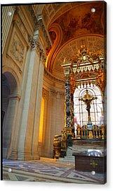 The Tombs At Les Invalides - Paris France - 01135 Acrylic Print