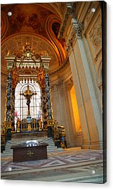 The Tombs At Les Invalides - Paris France - 01136 Acrylic Print by DC Photographer
