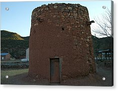 The Torreon In Lincoln City New Mexico Acrylic Print by Jeff Swan
