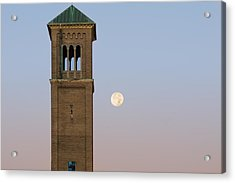 The Tower Acrylic Print by Chris Bordeleau