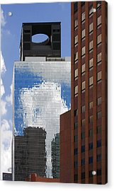 The Tower Of Power Houston Tx Acrylic Print by Christine Till