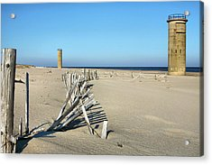 The Towers Acrylic Print by JC Findley