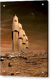 The Towers Of Icarus II Acrylic Print