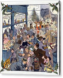 The Toy Department Puck Magazine 1913 Acrylic Print