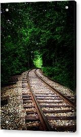 The Tracks Through The Woods Acrylic Print