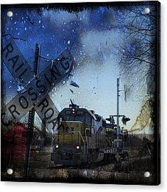 The Train Acrylic Print