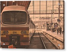The Train Kept A Rollin Acrylic Print