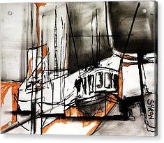 The Trawlers Acrylic Print
