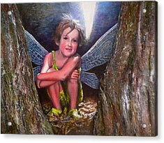 The Tree Fairy Acrylic Print by Michael Durst