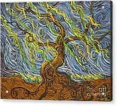The Tree Have Eyes Acrylic Print