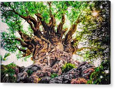 Acrylic Print featuring the photograph The Tree by Joshua Minso