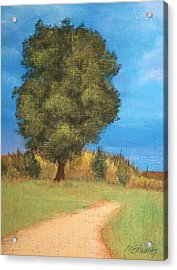 The Tree Acrylic Print by Marna Edwards Flavell