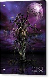 The Tree Of Sawols Acrylic Print by John Edwards
