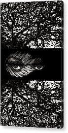The Tree Watcher Acrylic Print by Nola Lee Kelsey
