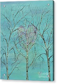 The Trees Speak To Me In Whispers Acrylic Print by Deborha Kerr