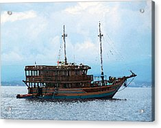 The Trip To Bunaken Acrylic Print by Sergey Lukashin