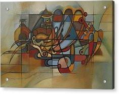 The Trumpet Acrylic Print