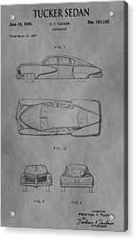 The Tucker Sedan Acrylic Print by Dan Sproul