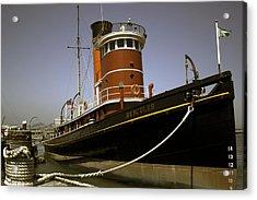 The Tug Boat Hercules Acrylic Print by William Havle
