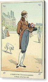 The Tuileries Gardens Acrylic Print