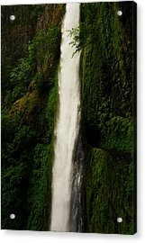The Tunnel Behind Tunnels Falls Acrylic Print by Jeff Swan
