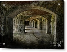 The Tunnels Acrylic Print