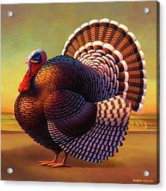 The Turkey Acrylic Print by Robin Moline