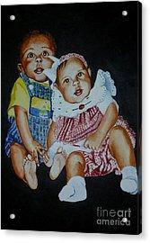 The Twins Acrylic Print