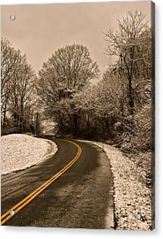 The Twisted Road Acrylic Print