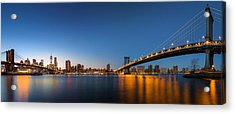 The Two Bridges Acrylic Print