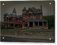 The Two Sisters Haunted House Acrylic Print by Tim McCullough