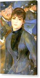 The Umbrellas Detail IIi Acrylic Print by Pierre Auguste Renoir