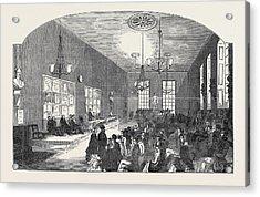 The Union Room, Jesus Lane Acrylic Print