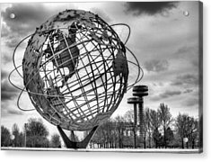 The Unisphere Acrylic Print by JC Findley