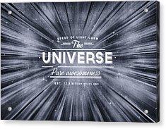 The Universe Crew Acrylic Print