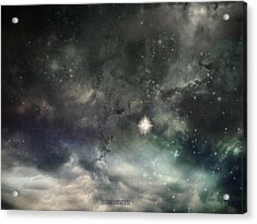 Acrylic Print featuring the photograph The Universe by Cynthia Lassiter